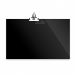Panel Infrarrojo 60x90 Cristal Negro